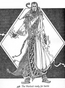 The Warlock of Firetop Mountain by Russ Nicholson