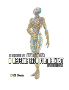 The Message from Furthermost, cover by Peter Frain