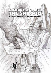 Swords Against the Shroud standard cover by John Ossoway